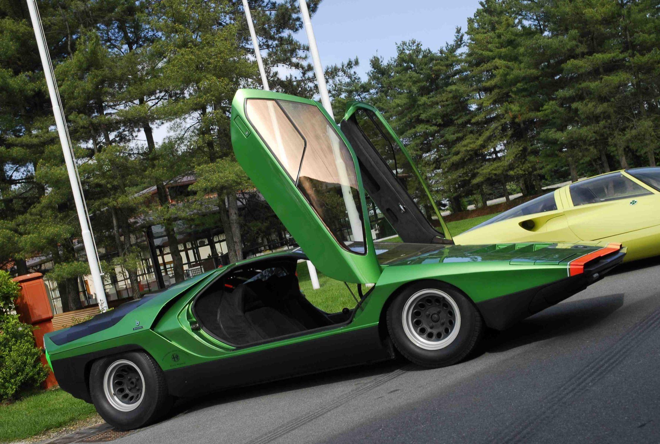 Alfa Romeo 33 Carabo V8 1968 Bertone Concept Alfaromeocarabo