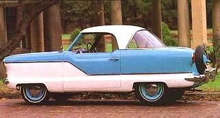 1955 Nash Rambler Metropolitan Coupe