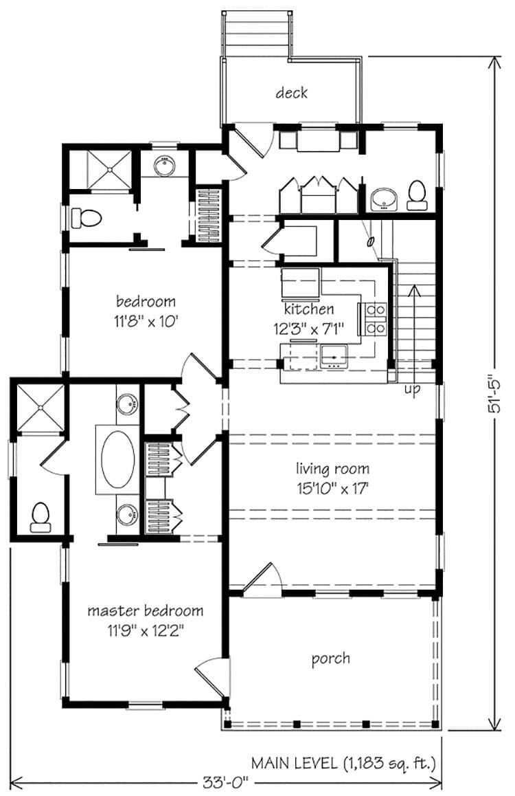 Small And Cozy Rustic Cabin In Georgia Carolina Jessamine Cottage Cottage Floor Plans Cottage Plan Cabin Floor Plans