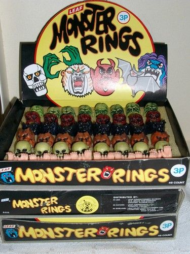dipsy and monster hunting fishing topic regular rings