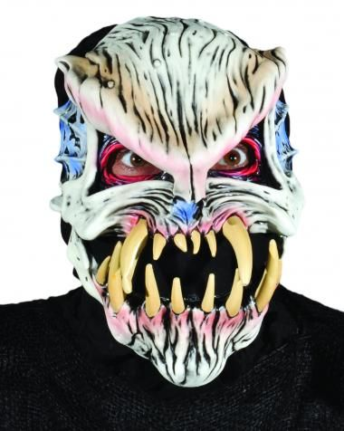 8c3d3c9c5e0 Grave Mistake Mask SKU  M2574 Alien skull character with large teeth.  Moving mouth sock mask. Zagone Masks   Costumes