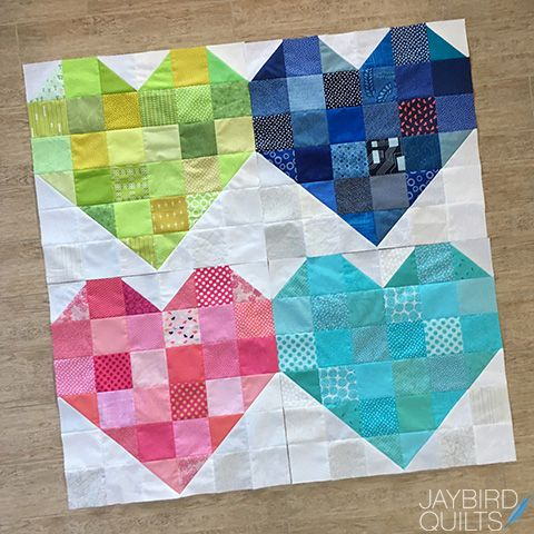 Quilts For Pulse Quilts Heart Quilt Jaybird Quilts