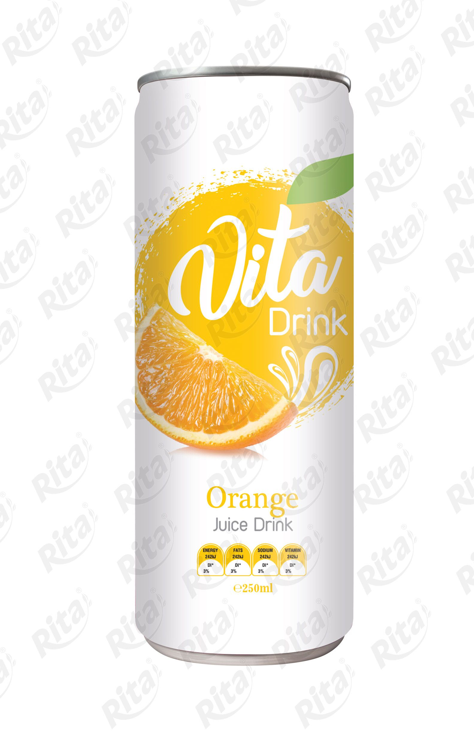 Orange juice drink 250mml thiết kế truyền cảm hứng