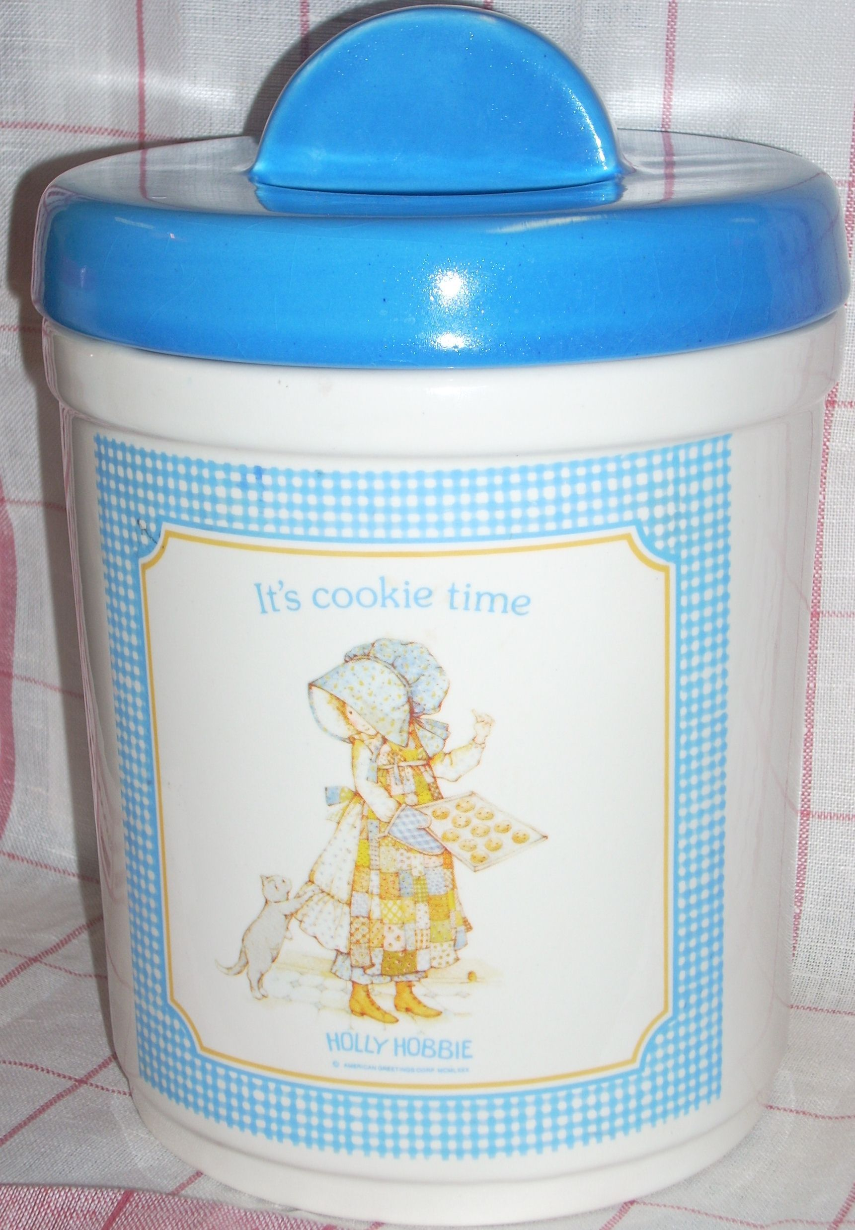 Vintage Holly Hobbie Cookie Jar American Greetings On Collectors