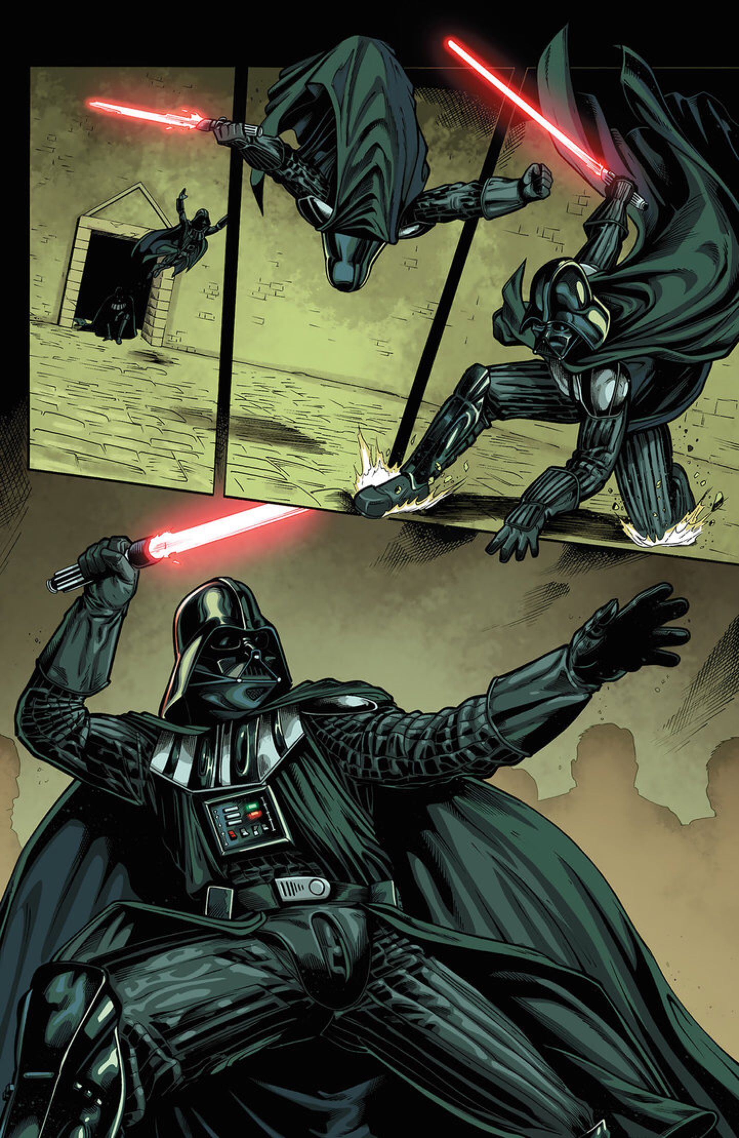 StarWars Darth Vader And The 9th Assassin 3 Pag21 By Dymartgd On DeviantArt