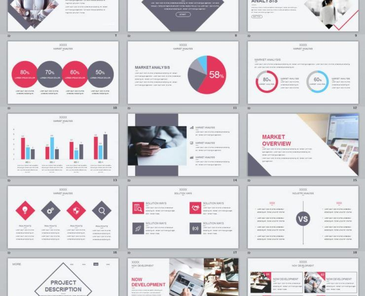Concise Magazine Business Plan PowerPoint Template верстка - Magazine business plan template