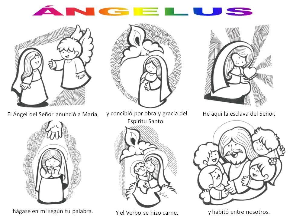 La Anunciacion Angel Gabriel Y Maria La Anunciacion De Maria Catequesis Educacion Religiosa