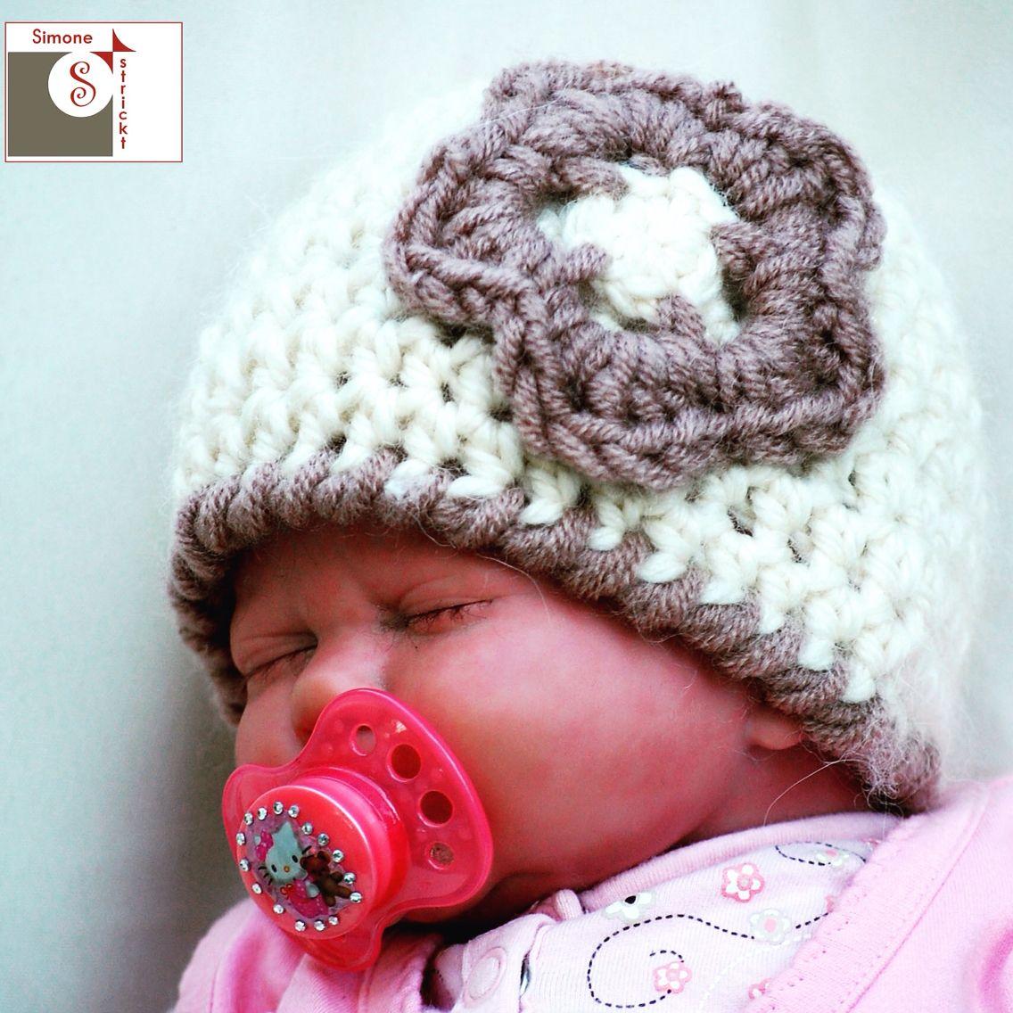 #Babymütze aus Alpaka