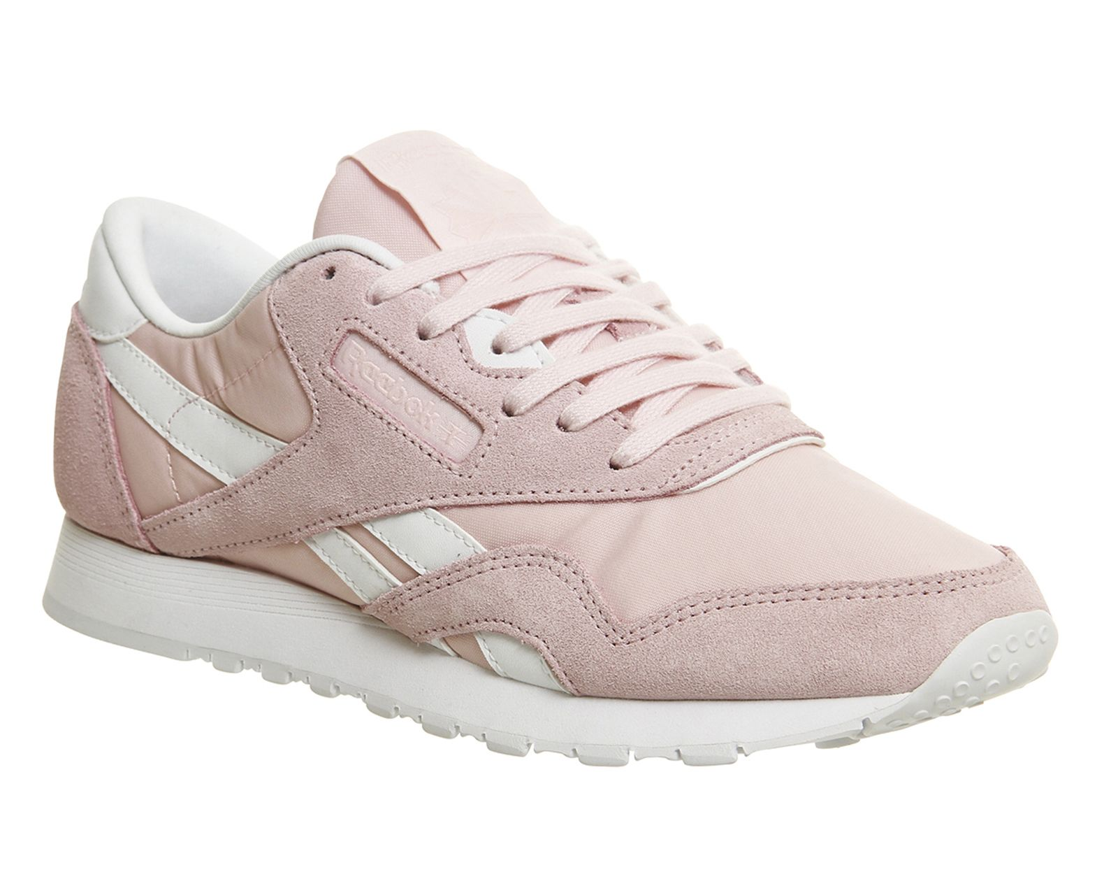 4b2ec961133a1 Buy Porcelain Pink White Reebok Cl Nylon from OFFICE.co.uk.