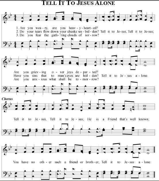 Amazing Grace Sheet Music With Lyrics: Gospel Song Lyrics