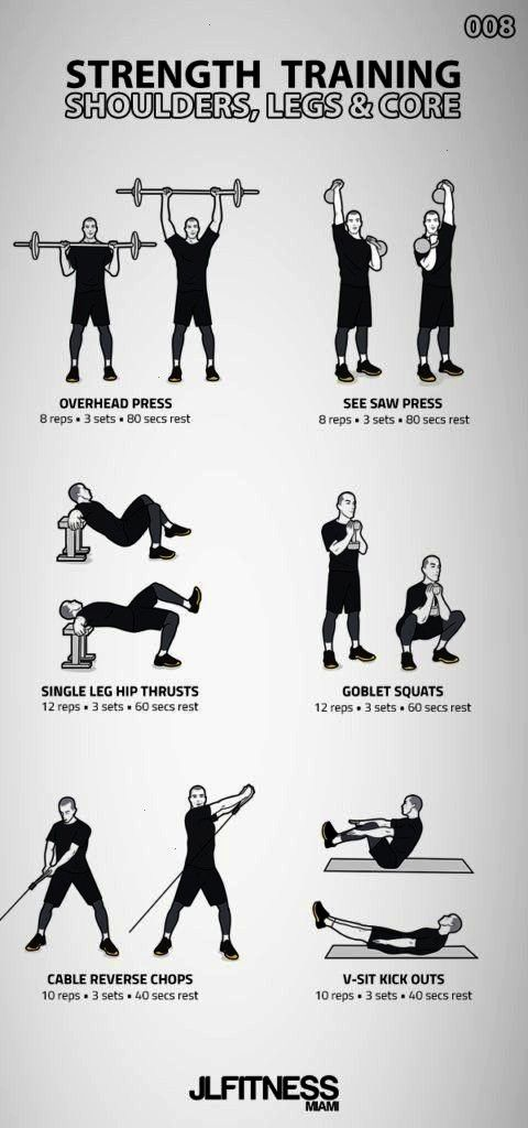 008- Shoulders, Legs amp Core | JLFITNESSMIAMI, ... Strength Training 008- Shoulders, Legs amp Core |