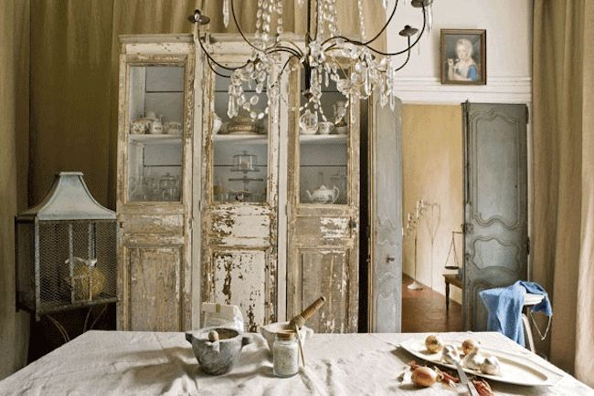 The french inspired room