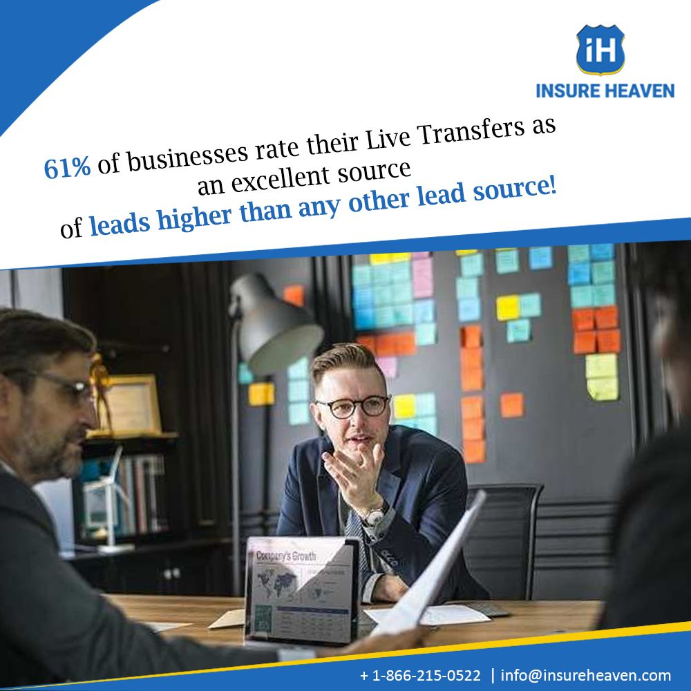 61 of businesses rate their livetransfers as an