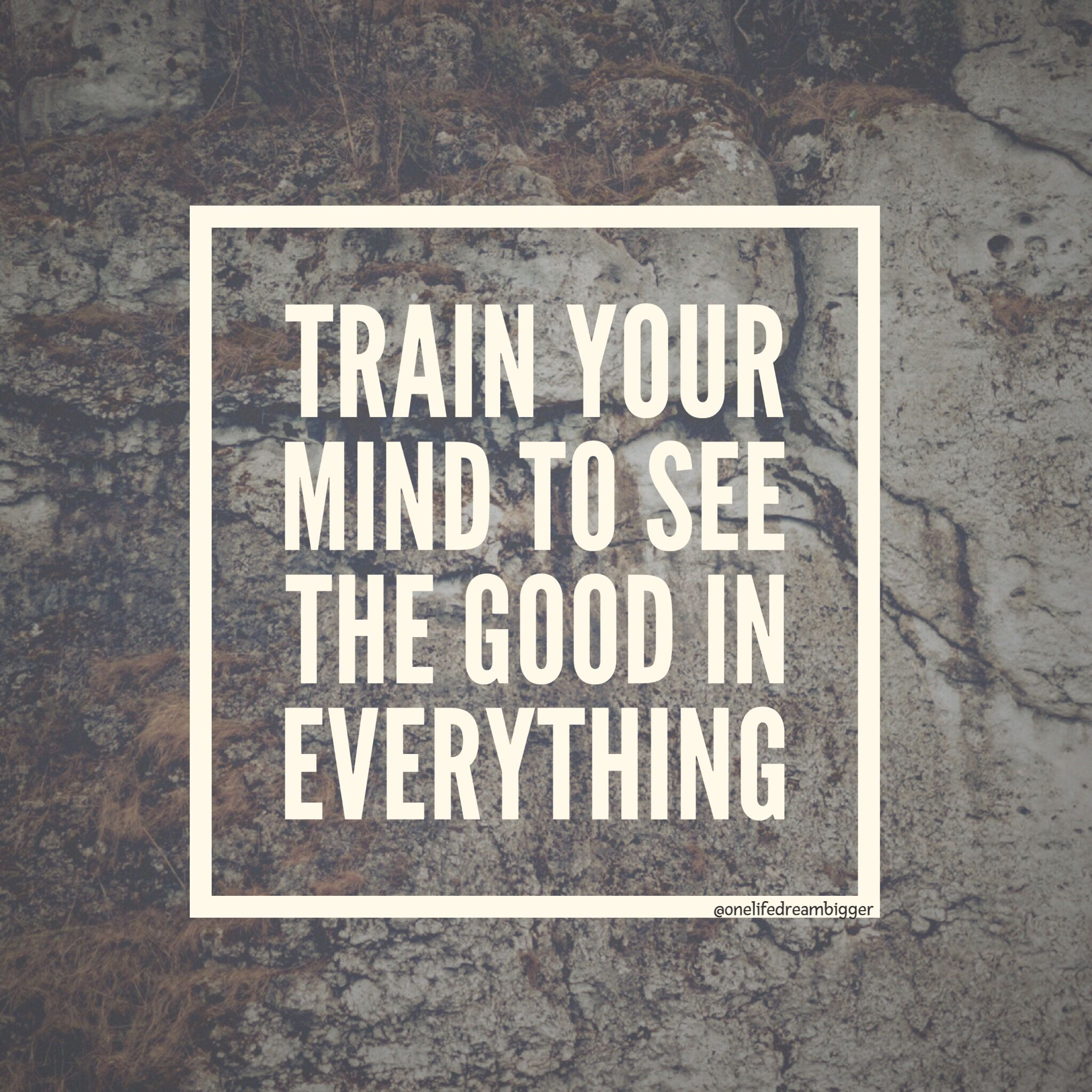 See the good!