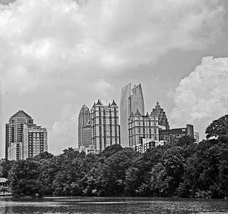 Photo of Atlanta skyline from Piedmont Park