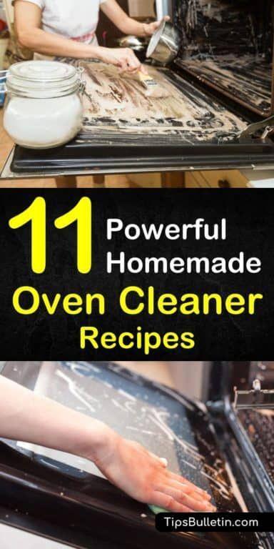 Oven Cleaning Hacks Baking Soda