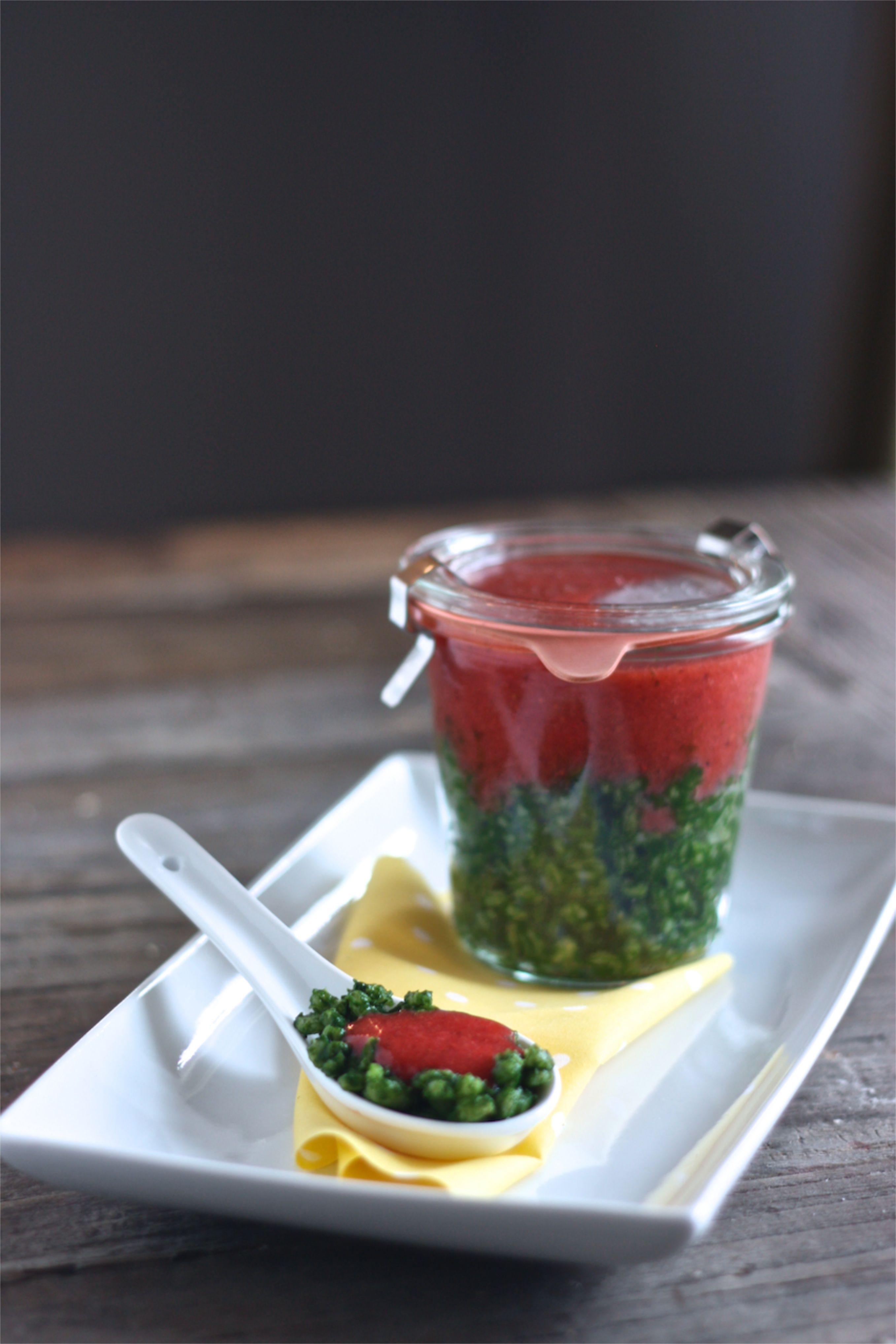how to make strawberry puree for baby