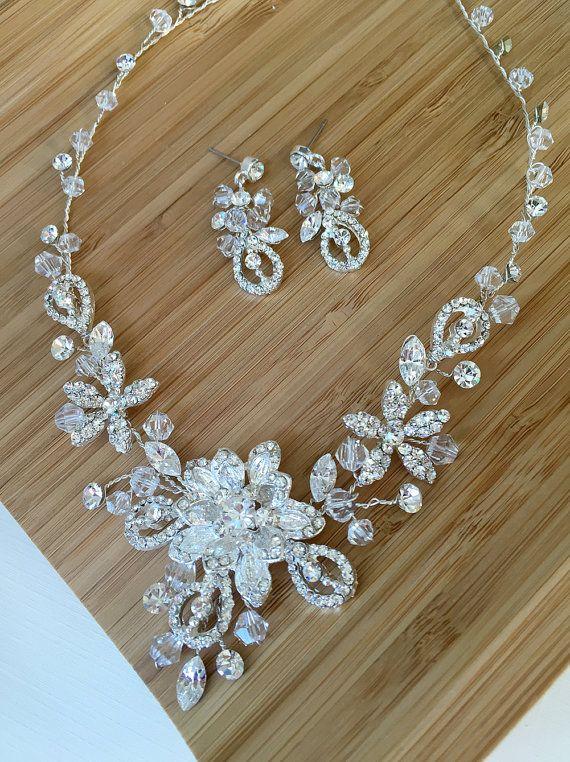 SWAROVSKI FANTASY JEWELRY SET Jewelry set is perfect for any bride