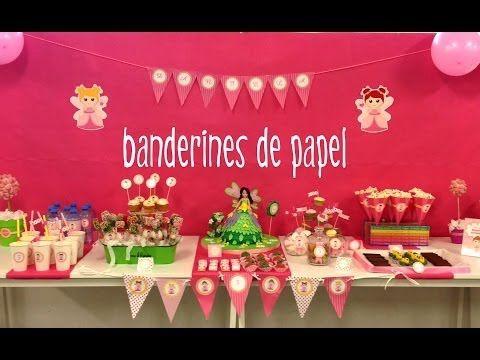 decoracin de fiestas infantiles banderines de papel para cumpleaos