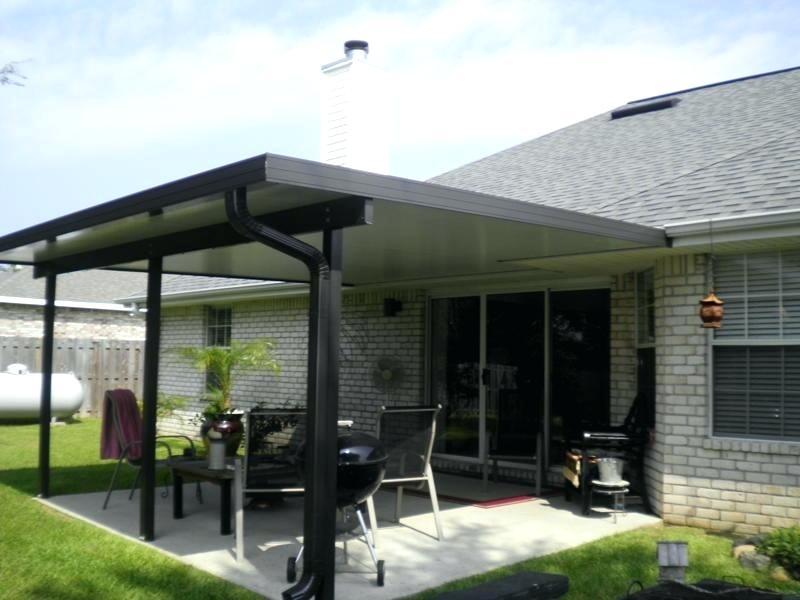 insulated aluminum roof panels Aluminum patio covers