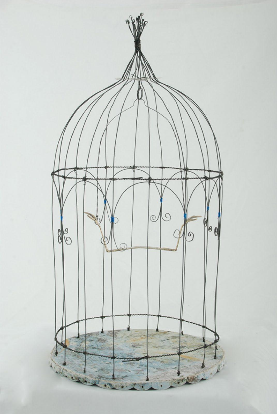 Birdcage Bird Cage Centerpiece Bird Cage Wire Diy