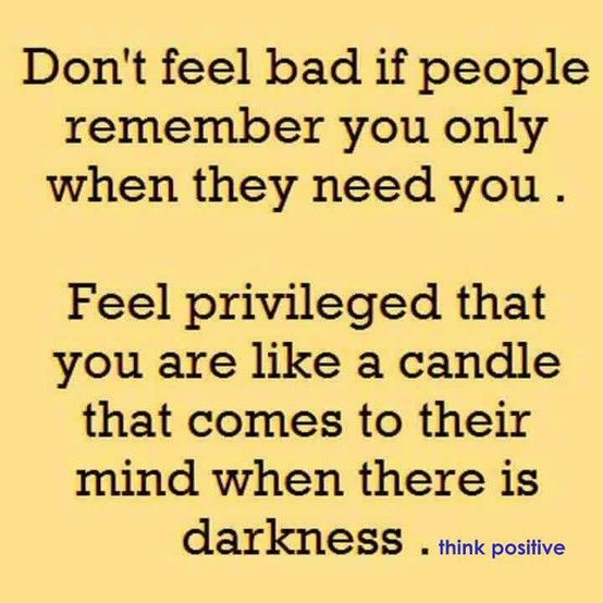 Candle in the dark - all volunteers should remember this!