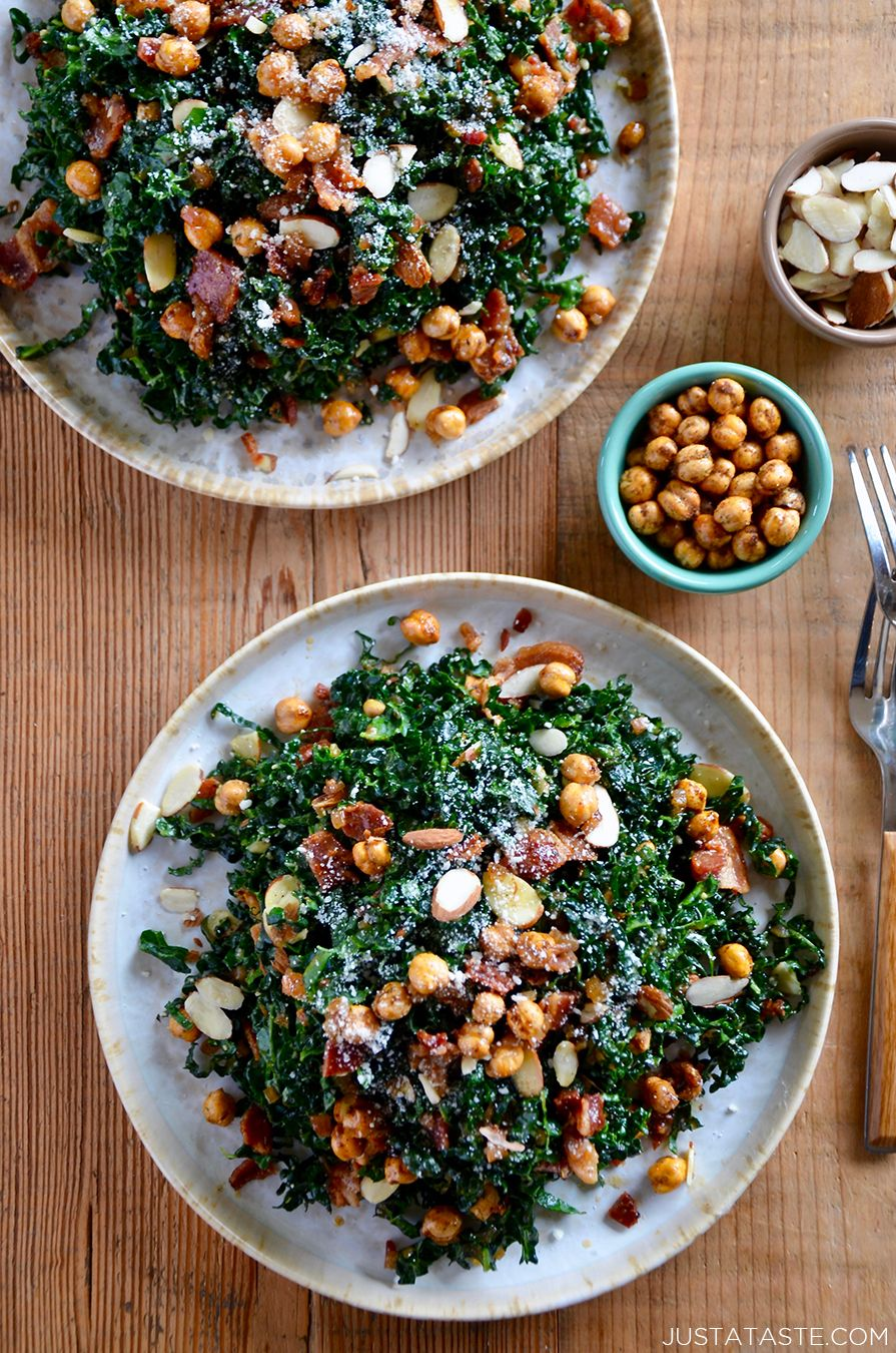 Kale Salad With Bacon Dressing Warm Salad Recipes Kale Salad Recipes Warm Kale Salad