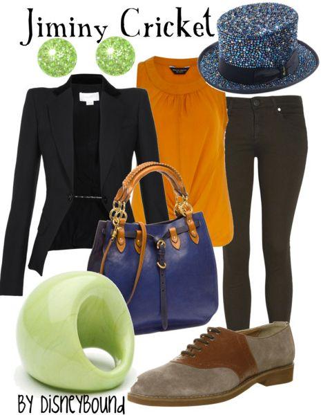Disneybound Jiminy Cricketwant that bag My Style Wishlist