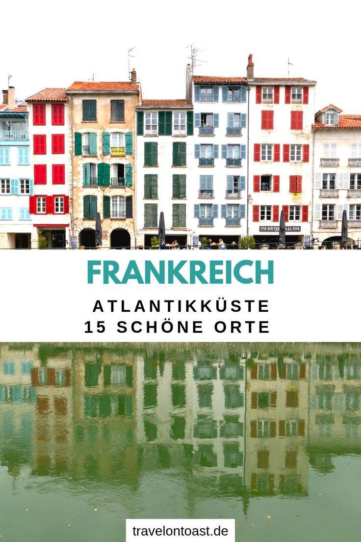 (Werbung) Holt euch die besten Tipps zur Atlantikküste Frankreich für die schönsten Orte wie Biarritz und Hossegor, tolle Erlebnisse, Strände sowie Atlantikküste Frankreich Camping (4 und 5 Sterne). #Frankreich #Atlantik
