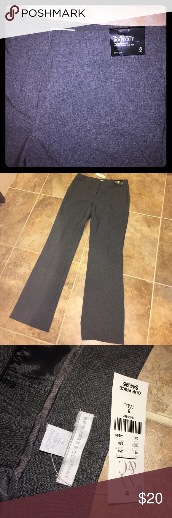 New York & Company bootcut slacks size 8 tall NWT. Absolute perfect condition. Perfect for work. New York & Company Pants Boot Cut & Flare