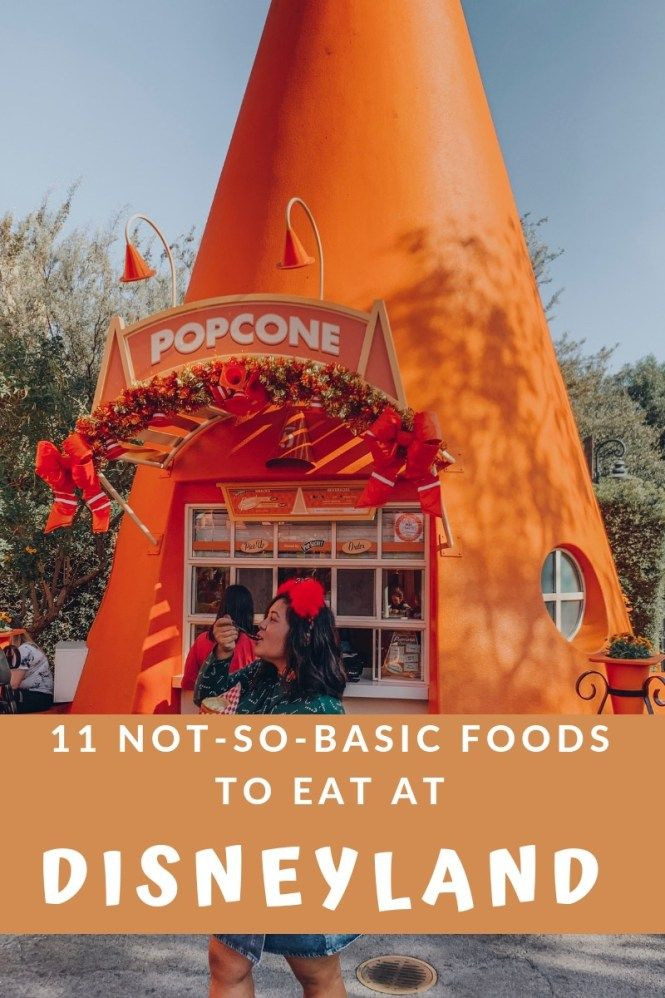 Not your average Basic B*tch Disneyland Food Guide - biancakarina #disneylandfood