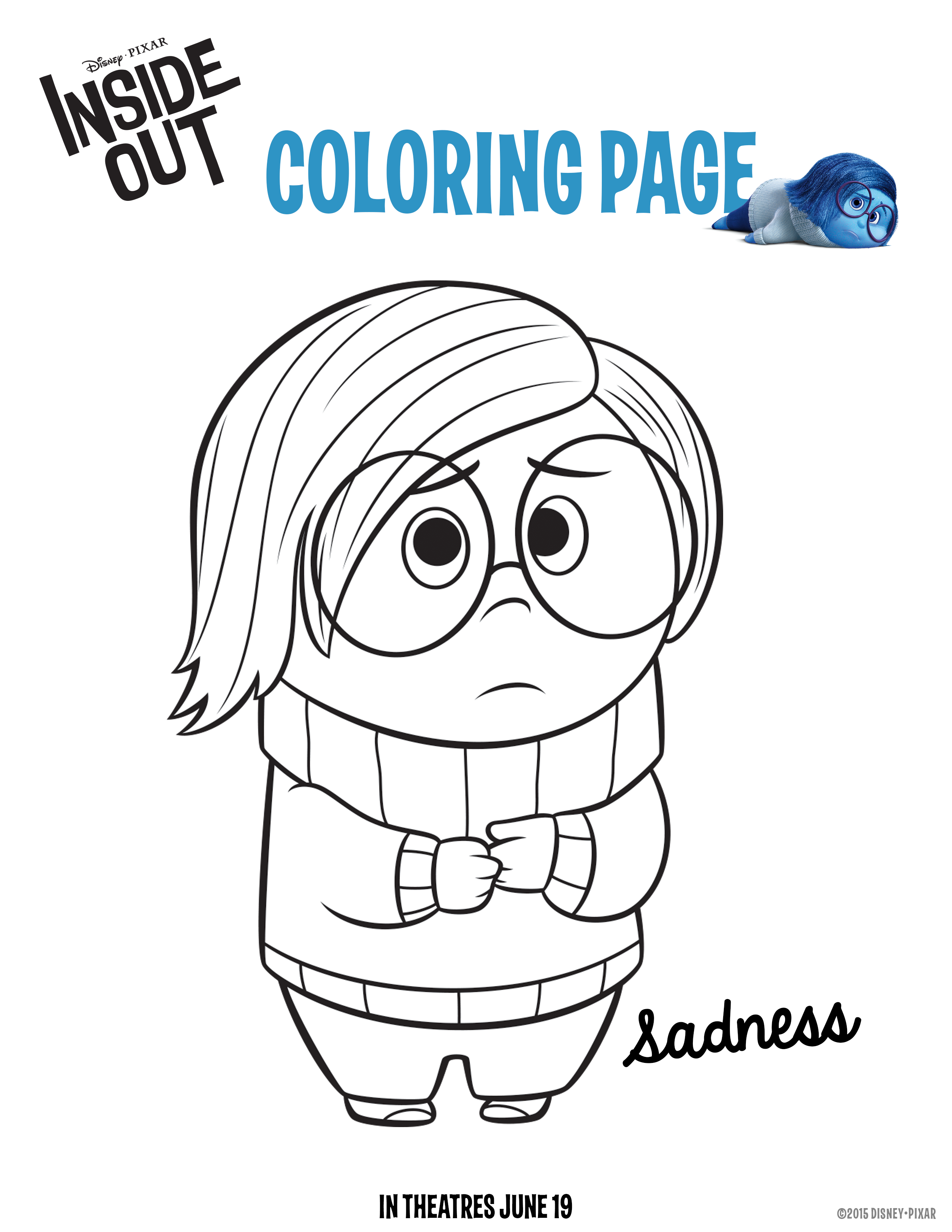 Don\'t cry if the crayon breaks. #Sadness | Inside Out | Pinterest ...