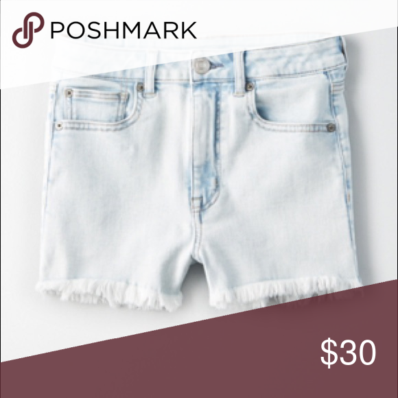 high waisted shorts size 8