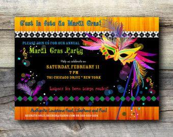 Invitación Fiesta De Carnaval Niños Por Classyyetsassyinvite