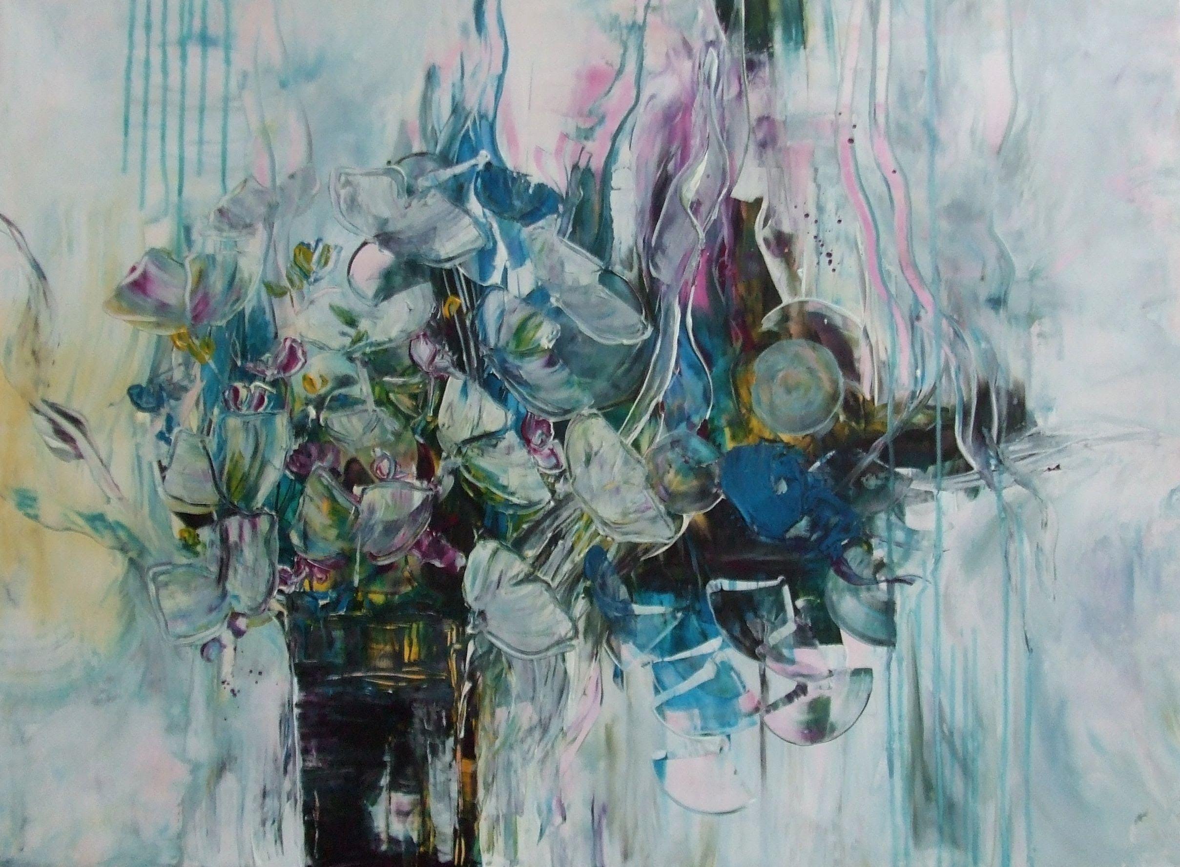 Von Abstrakt zu Floral, Teil 2, abstract and floral part 2