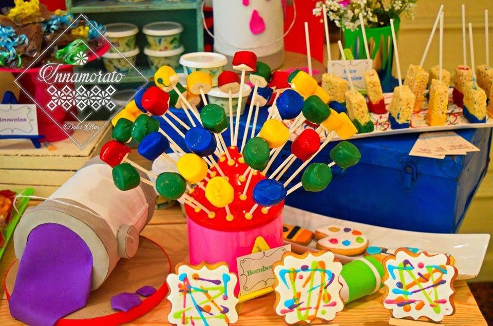 Pinturas Para Fiestas Infantiles