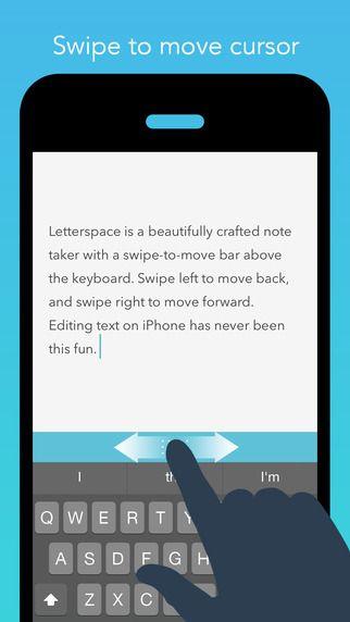 Letterspace Swipe Edit Note By Sittipon Simasanti App