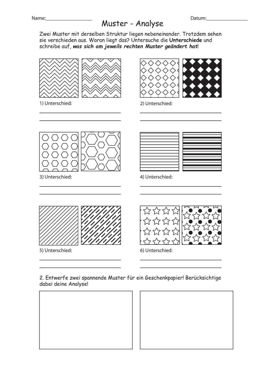 Muster Variationsmoglichkeiten Kennen Und