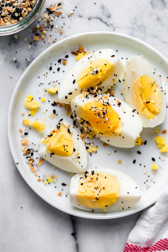 Air Fryer Hard Boiled Eggs Recipe Boiled eggs, Hard