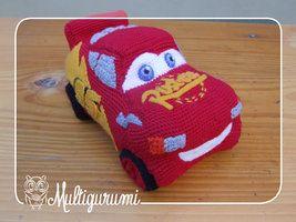 Amigurumi Patterns Cars : Lightning mcqueen amigurumi cars by multigurumi crochet fun