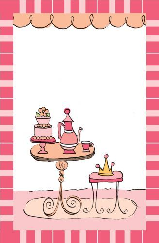 Princess Tea Party Invitation  Celebrate It