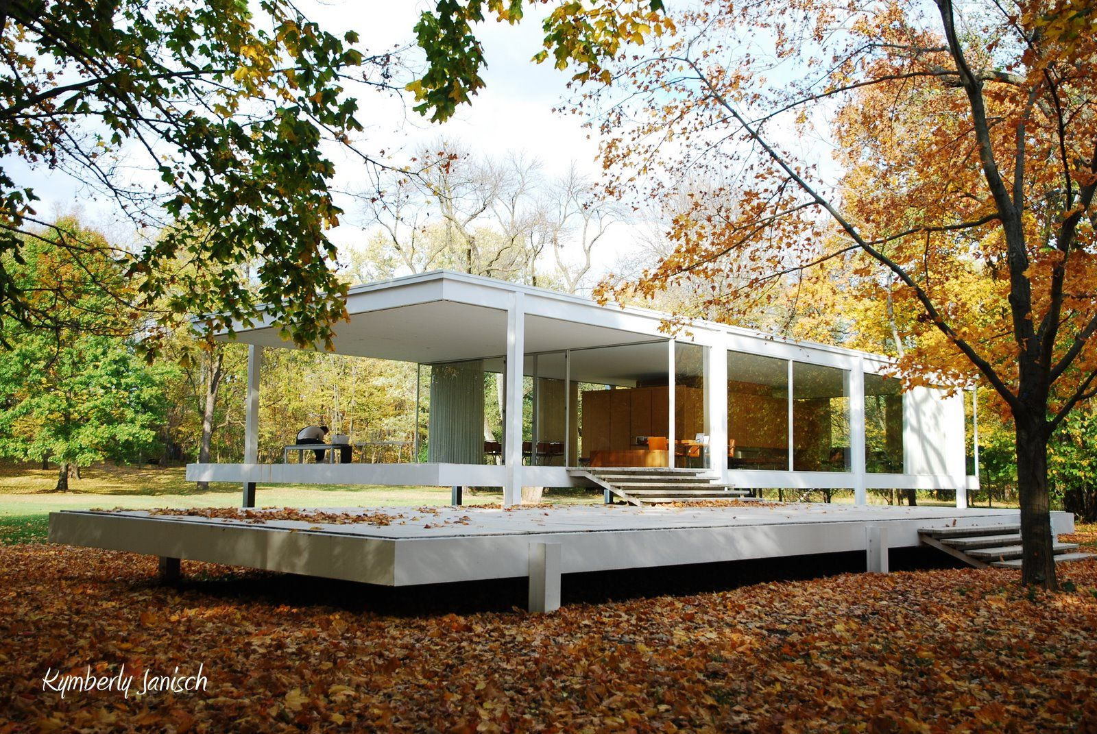 Farnsworth House Mies Van Der Rohe Plano Illinois 1951