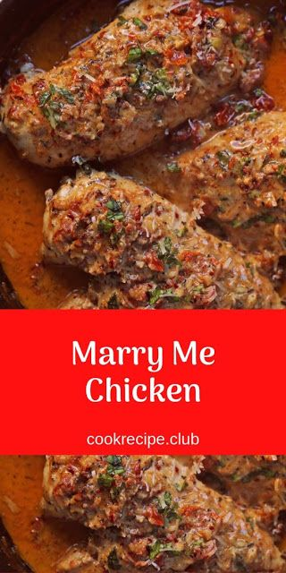 Marry Me Chicken #marrymechicken