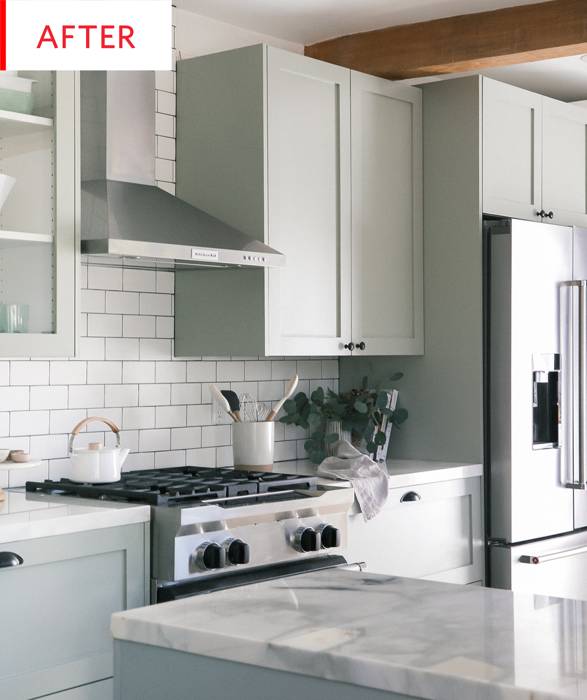 before and after an outdated kitchen becomes light and airy cheap kitchen remodel ikea on kitchen remodel must haves id=20854