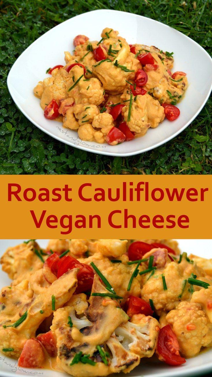 Roasted Cauliflower Vegan Cheese