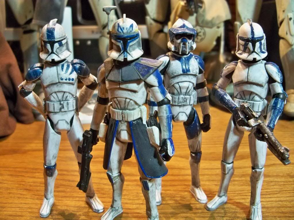 4 of the most famous clones of the 501st torrent company under 4 of the most famous clones of the 501st torrent company under jedi general anakin skywalker xflitez Image collections