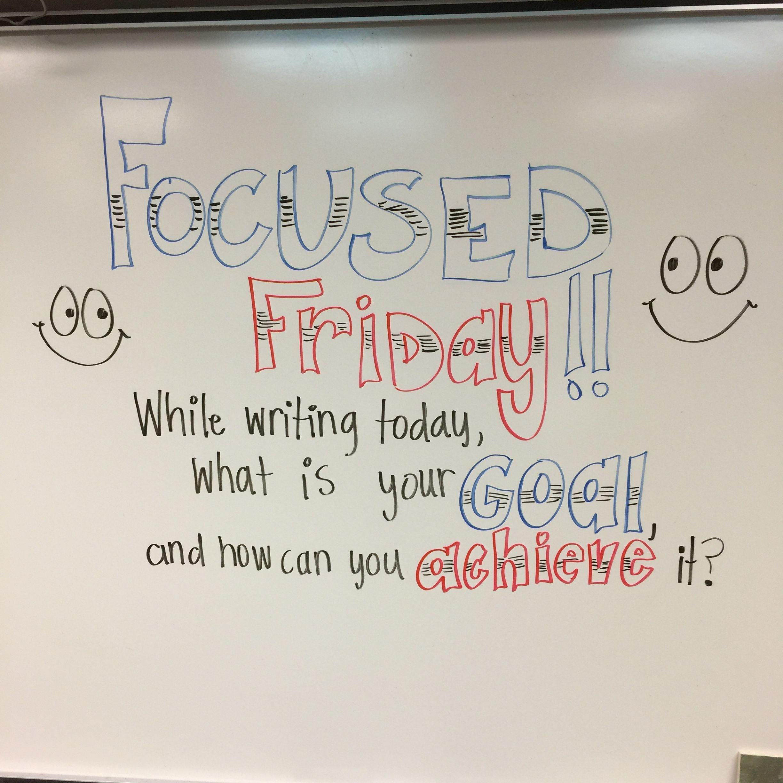 Focused Friday | Bell Ringer FRIDAY | Pinterest