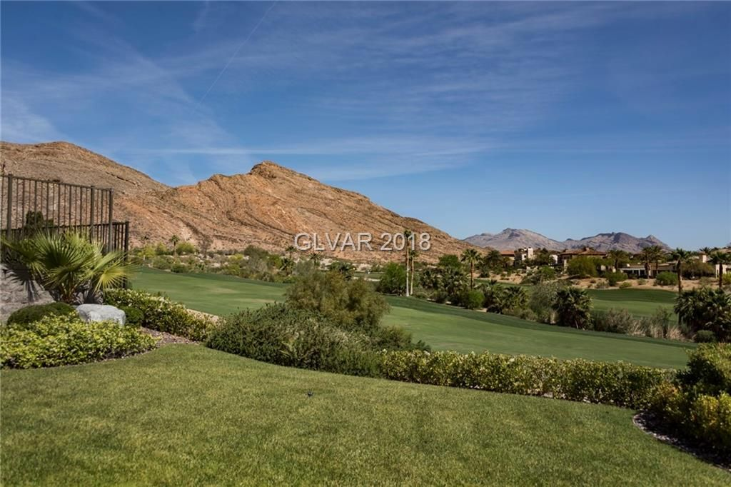 Elevated 1 story on 5th hole of private Mountain course w
