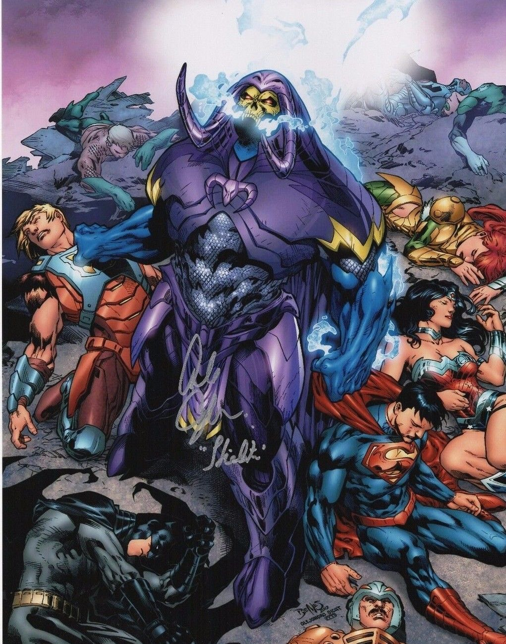 Alan Oppenheimer Autograph 11x14 Photo Masters Of The Universe Skeletor Coa Masters Of The Universe Comics Dc Comics Characters Born on 23rd april, 1930 in new york, new york. pinterest