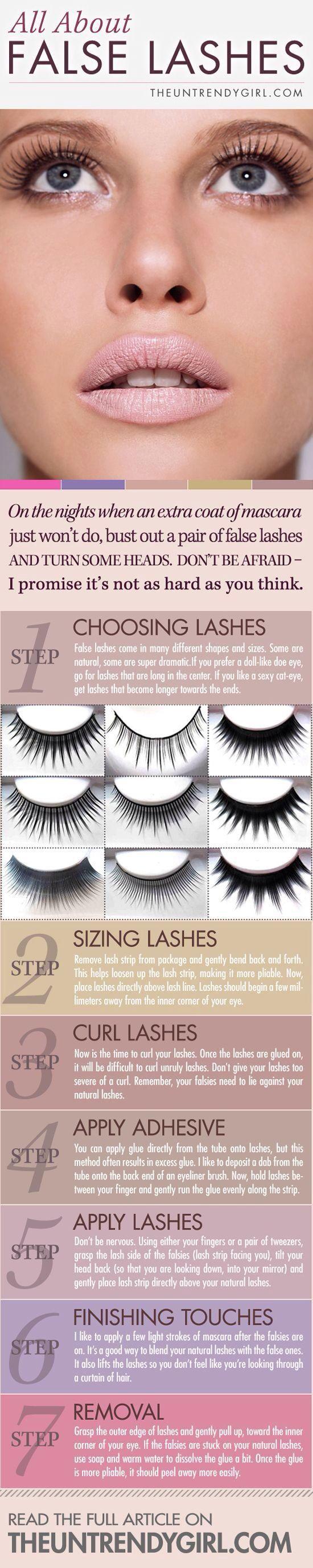 False Eyelashes Fake Eyelashes Pinterest Make Up Eye And Hair